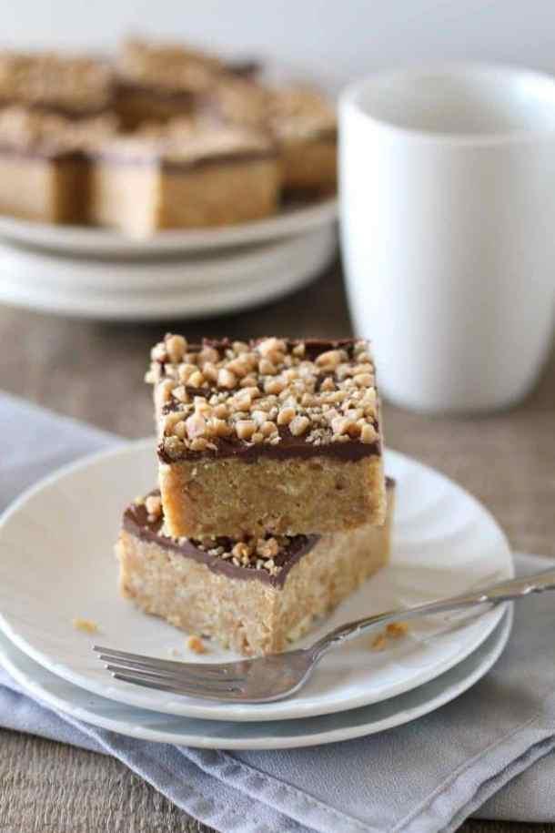 Skor Squares--Part of The Best Dessert Bars