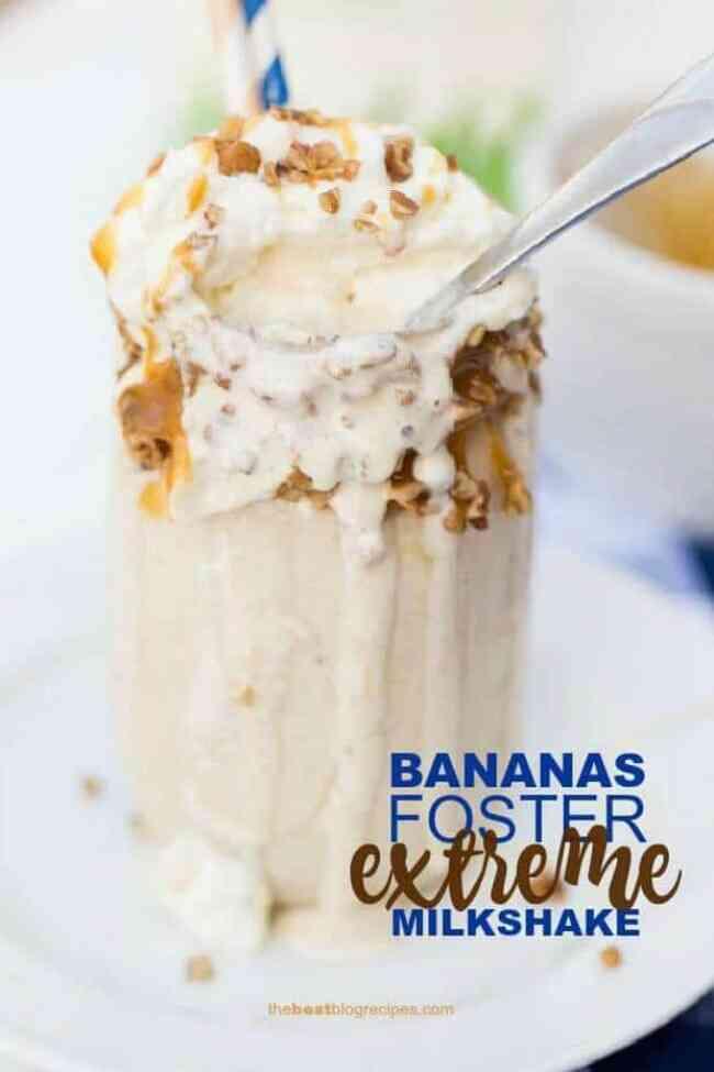 Bananas Foster Extreme Milkshake Recipe