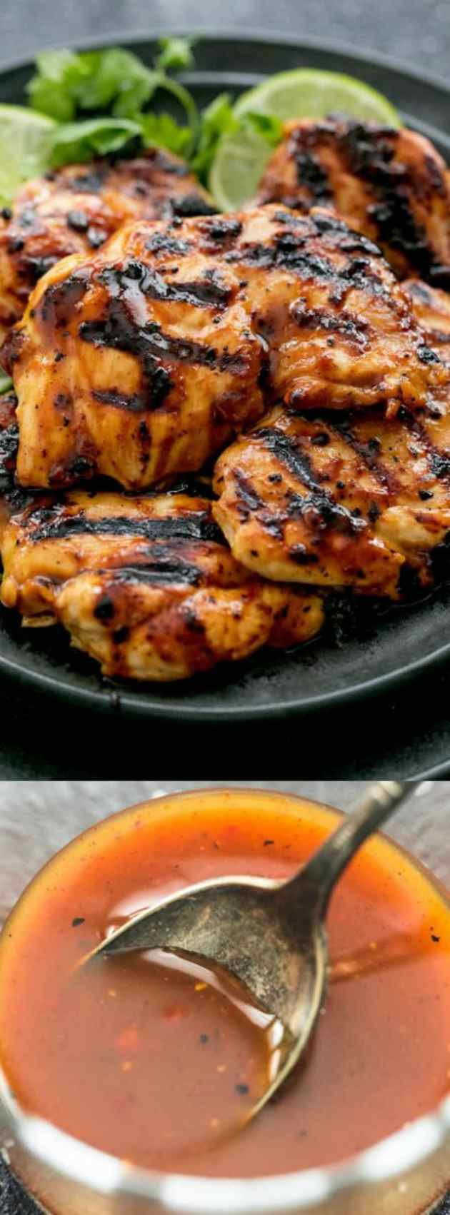 Grilled Chili Lime Chicken Longpin