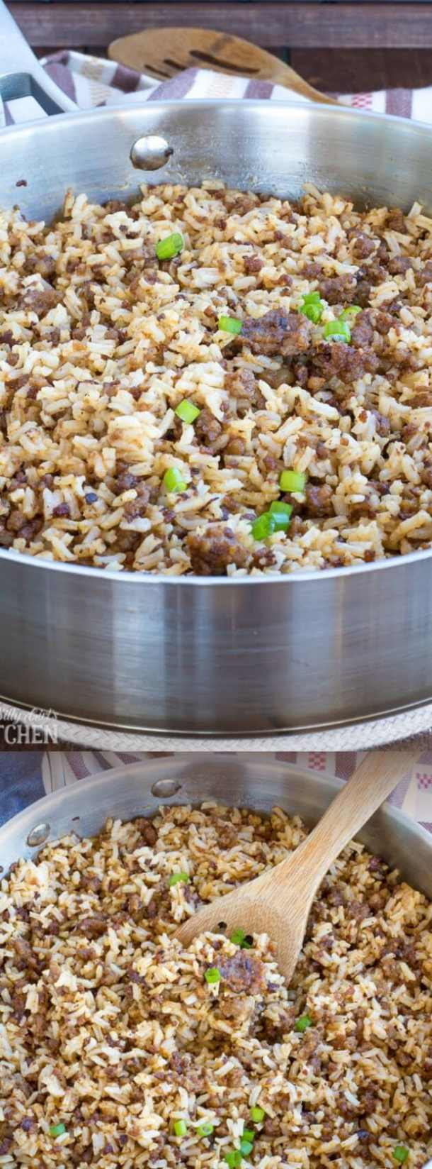 Sausage Dirty Rice