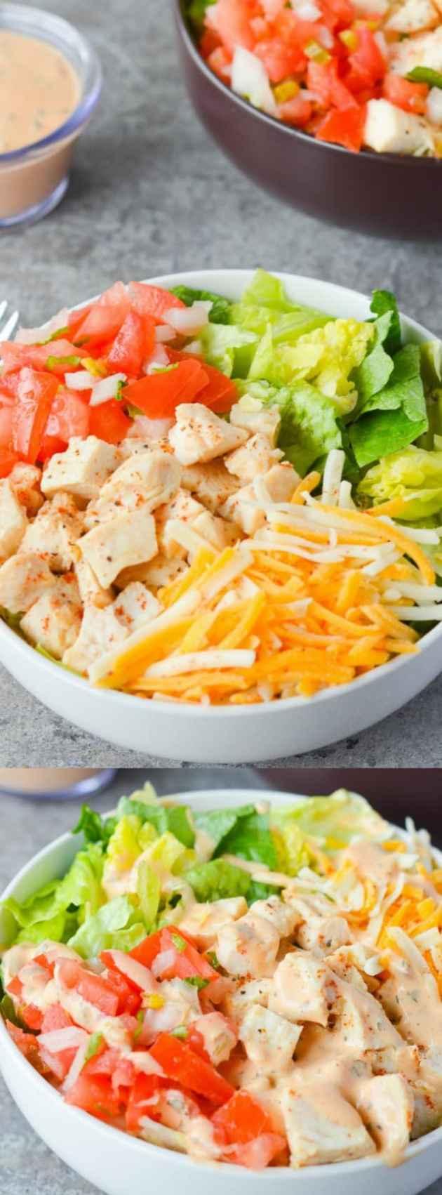 Southwest Chicken Salad Longpin