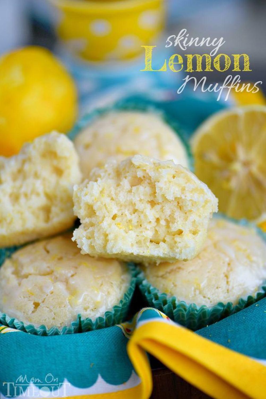 skinny lemon muffins