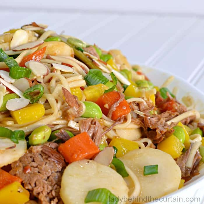 Asian Noodle Bowl Recipe
