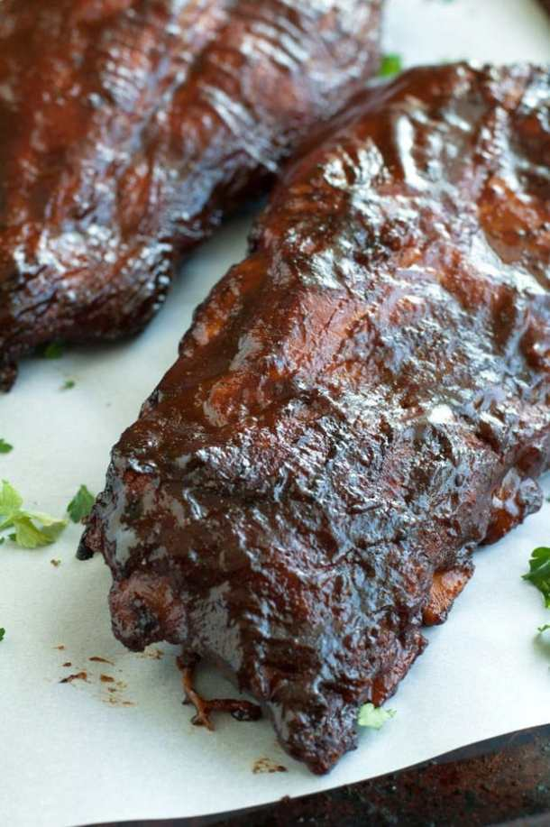 Cherry Cola Grilled Ribs recipe