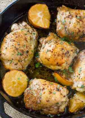 Easy Greek Lemon Chicken