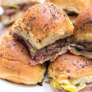 Italian Roast Beef Sliders