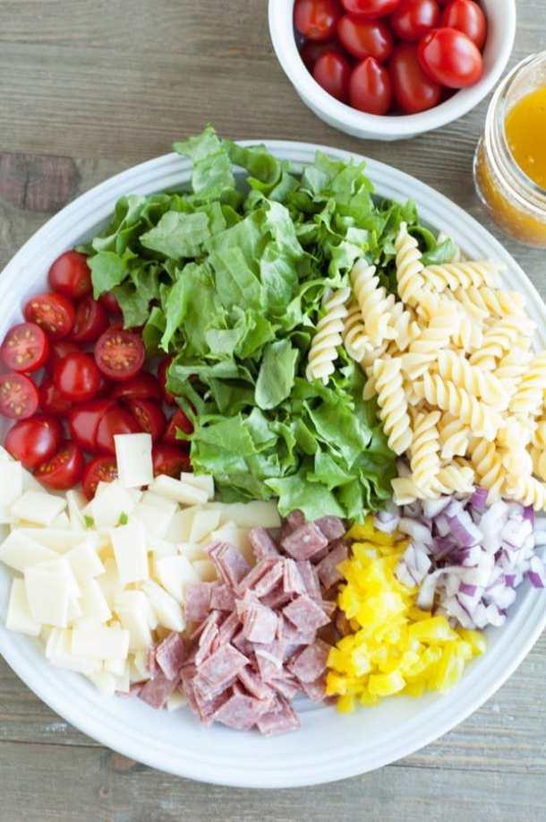 Italian Sub Pasta Salad Recipe