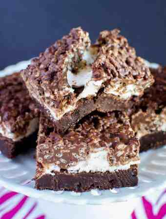 Marshmallow Fudge Crunch Brownies