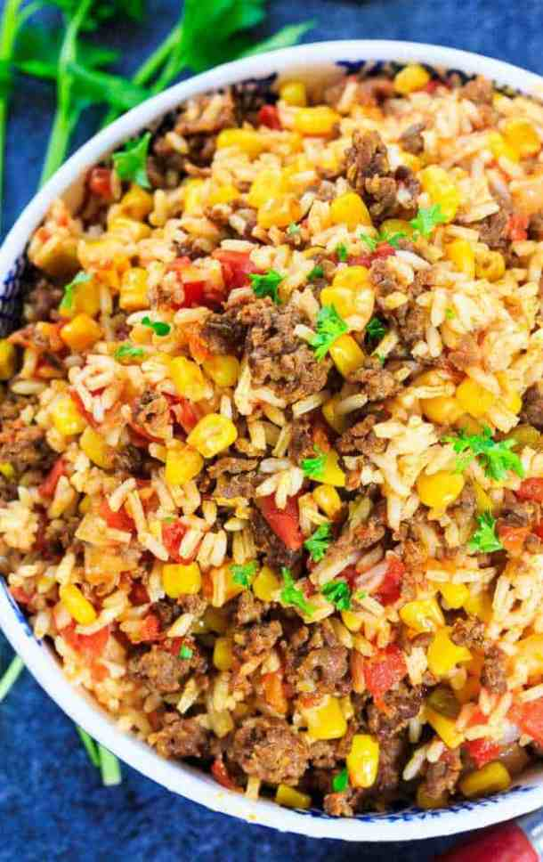 Mexican chorizo Rice recipe