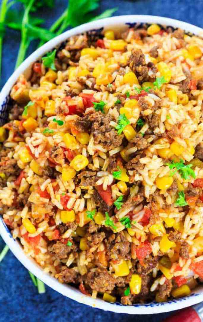 Mexican chorizo Rice recipe