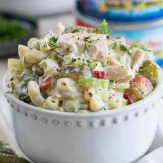 Pickled Tuna Macaroni Salad