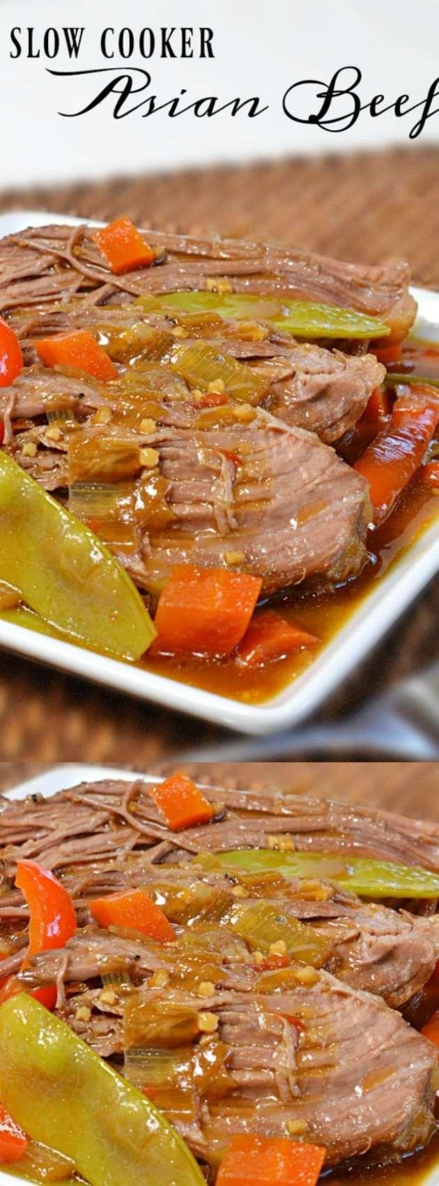 Slow Cooker Asian Beef Longpin