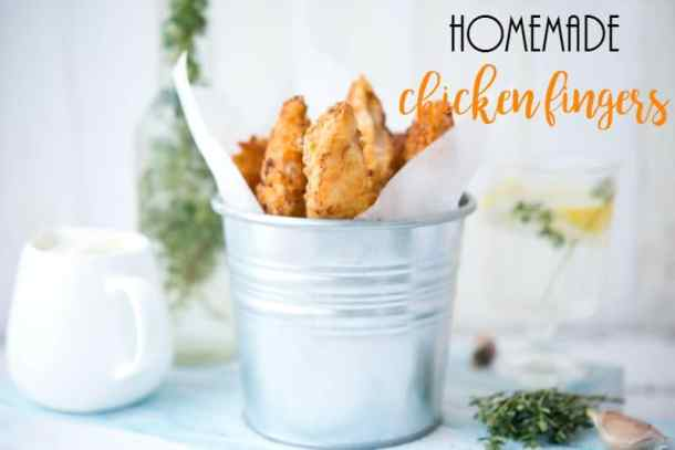 homemade chicken fingers recipe