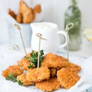 Homemade Chicken Fingers