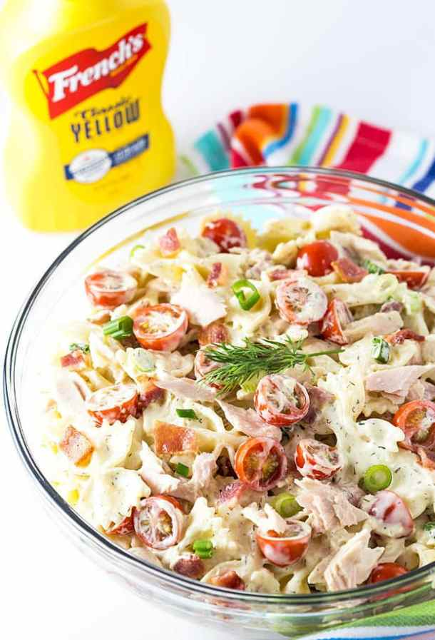 tuna and bacon pasta salad recipe
