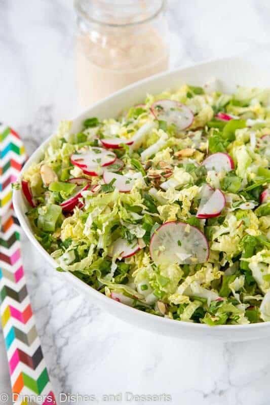 Asian Napa Cabbage Slaw