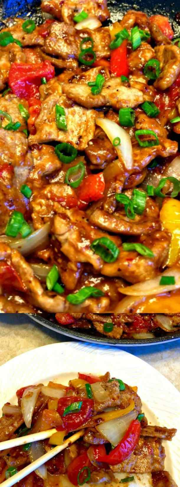 Asian Pepper Steaks