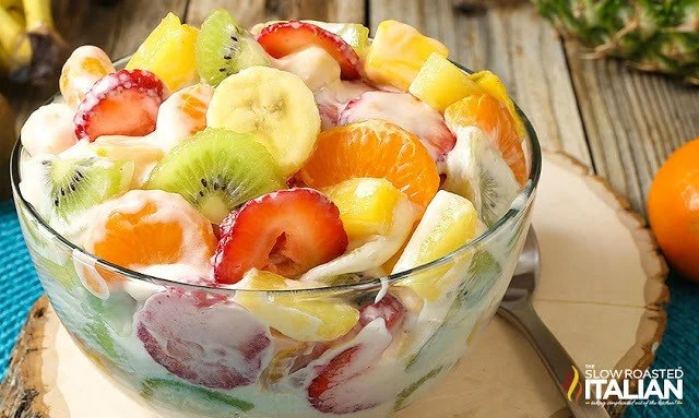 Hawaiian Cheescake Salad recipe