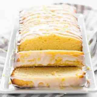 Homemade Lemon Pound Cake