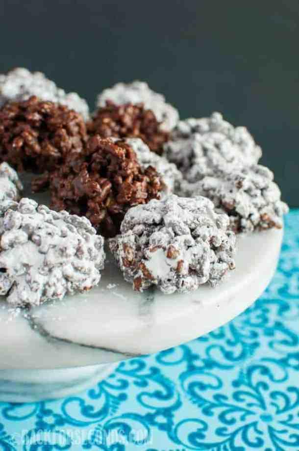 No Bake Muddy Buddy Crack Cookies recipe