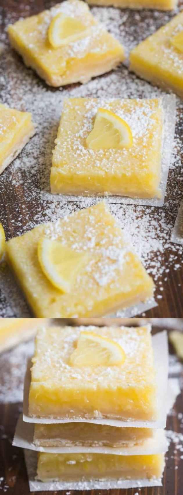 Perfect Lemon Bars Longpin