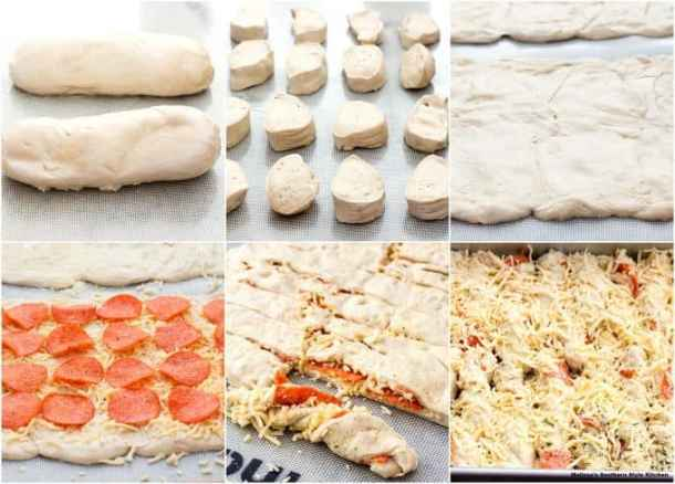 Pull Apart Pepperoni Bread Sticks recipe