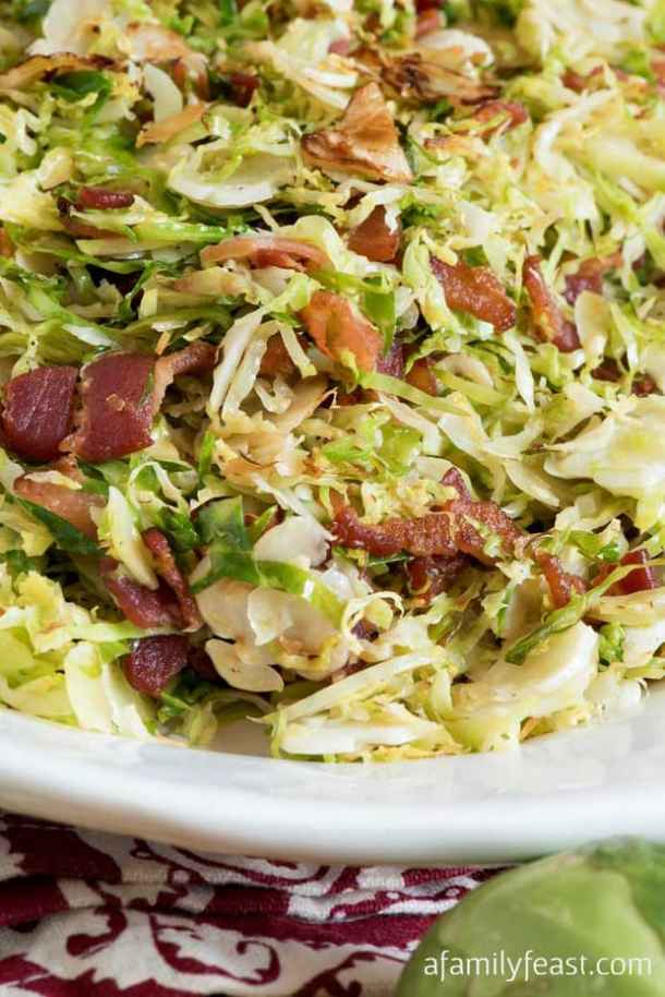 Shaved Brussels Sprouts Bacon recipe