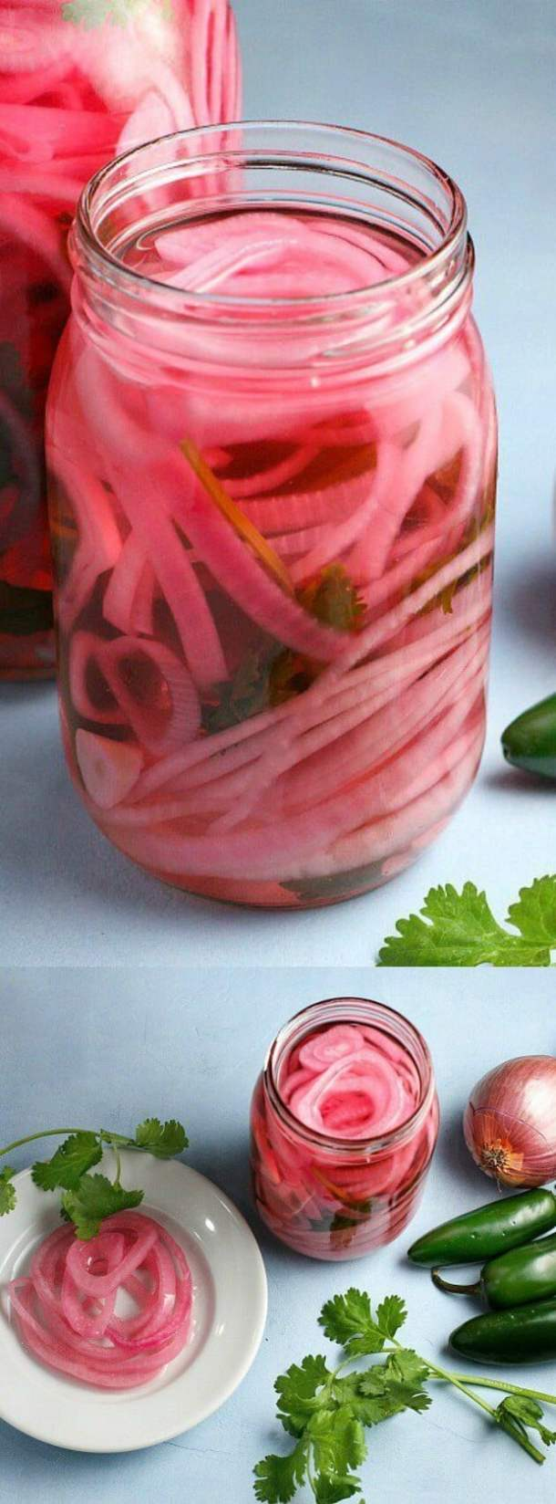 Spicy Pickled Red Onions