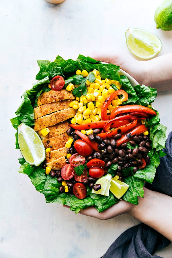 chili lime chicken Salad recipe