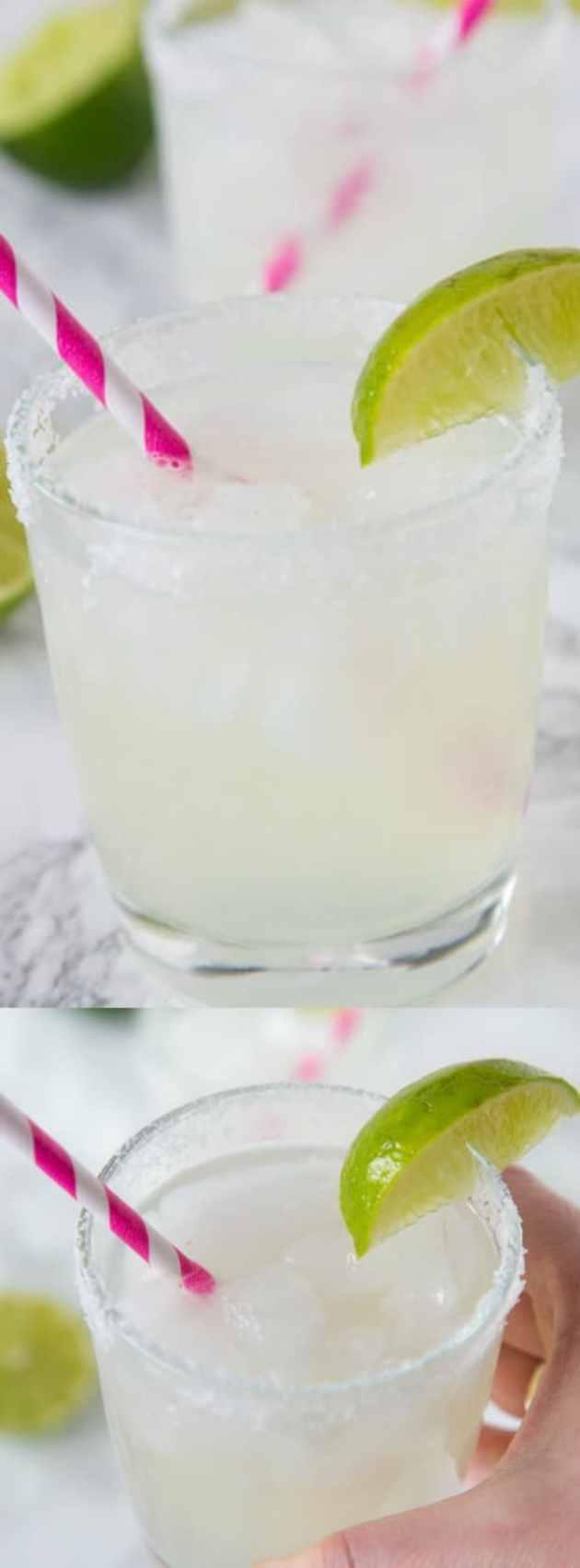 classic lime margarita on the rocks longpin