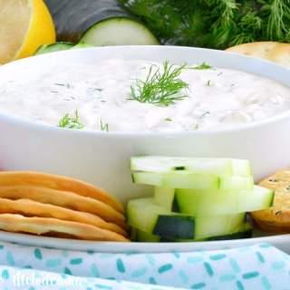 Easy Cucumber Dill Dip