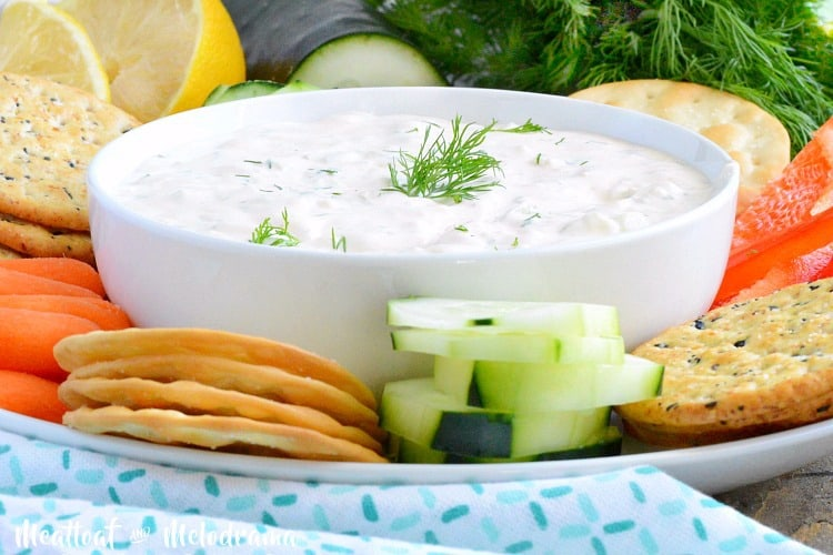 easy cucumber dill dip