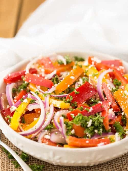 three Pepper Salad recipe