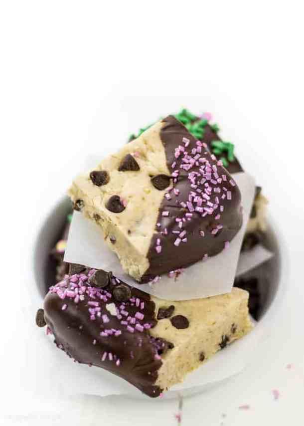 3-Ingredient Edible Cookie Dough Bites Recipe