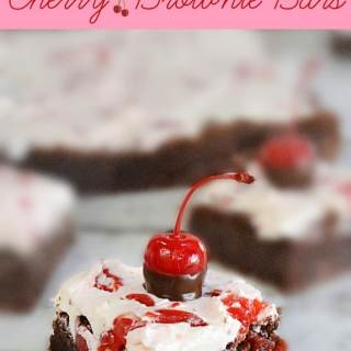 Cherry Brownie Bars