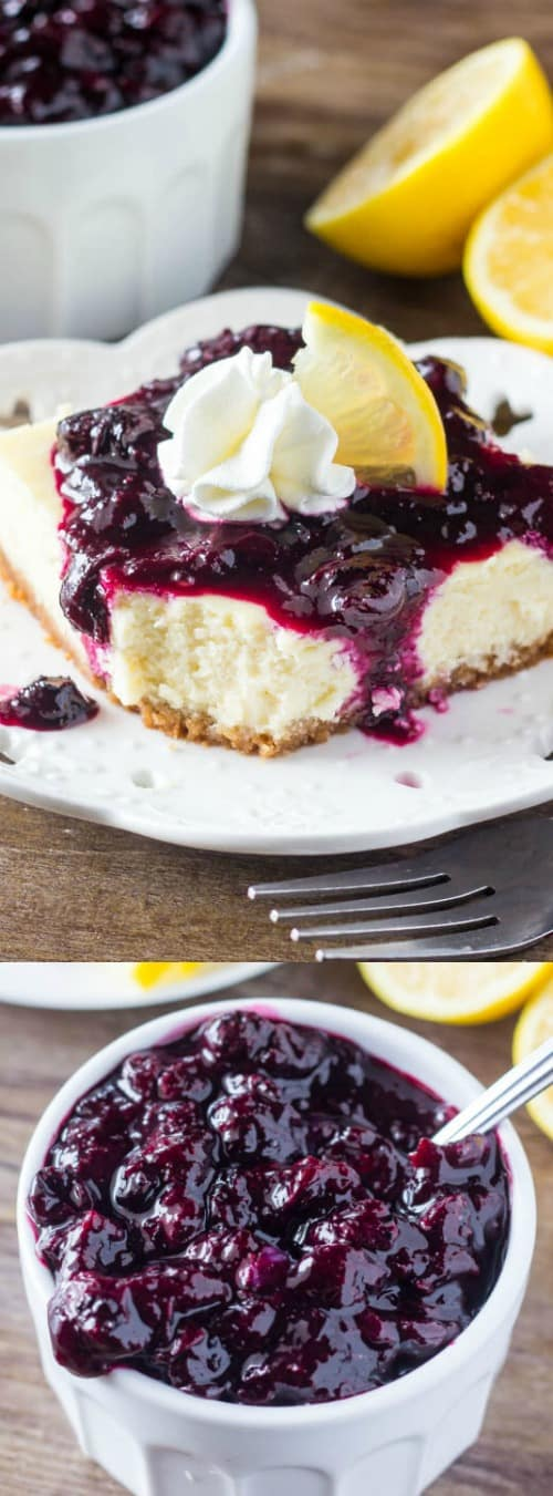 Lemon Blueberry Cheesecake Squares Longpin