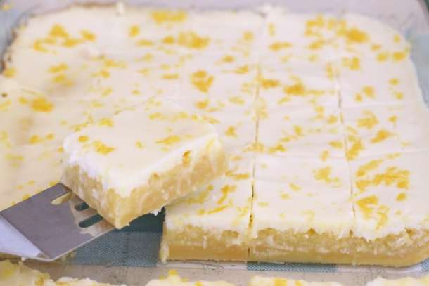 Lemon Butter Bars Recipe