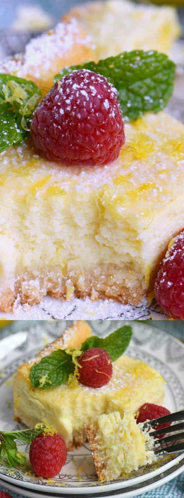 Lemon Cheesecake Bars Longpin