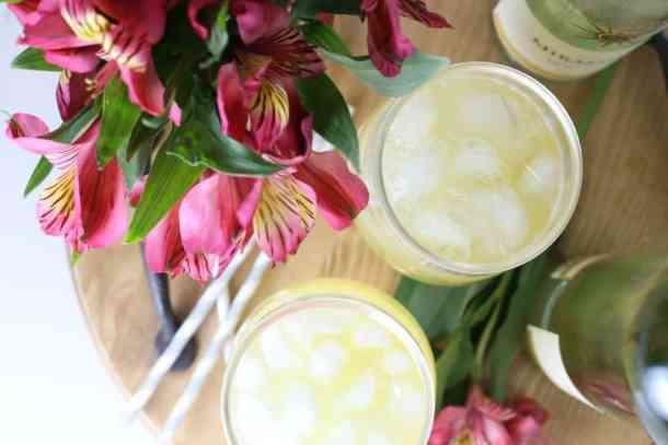 Pineapple Moscato Sangria Recipe