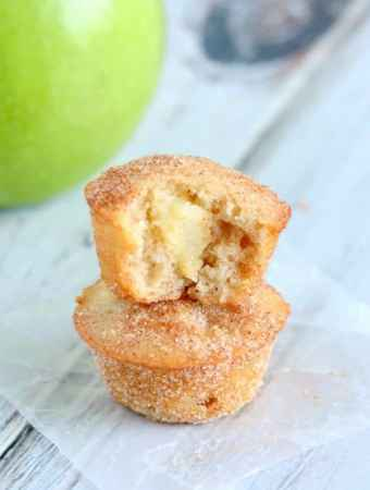 Apple Snickerdoodle Mini Muffins