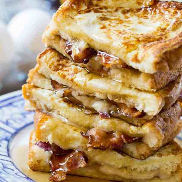 Bacon Stuffed French Toast--Part of The Best French Toast Recipes
