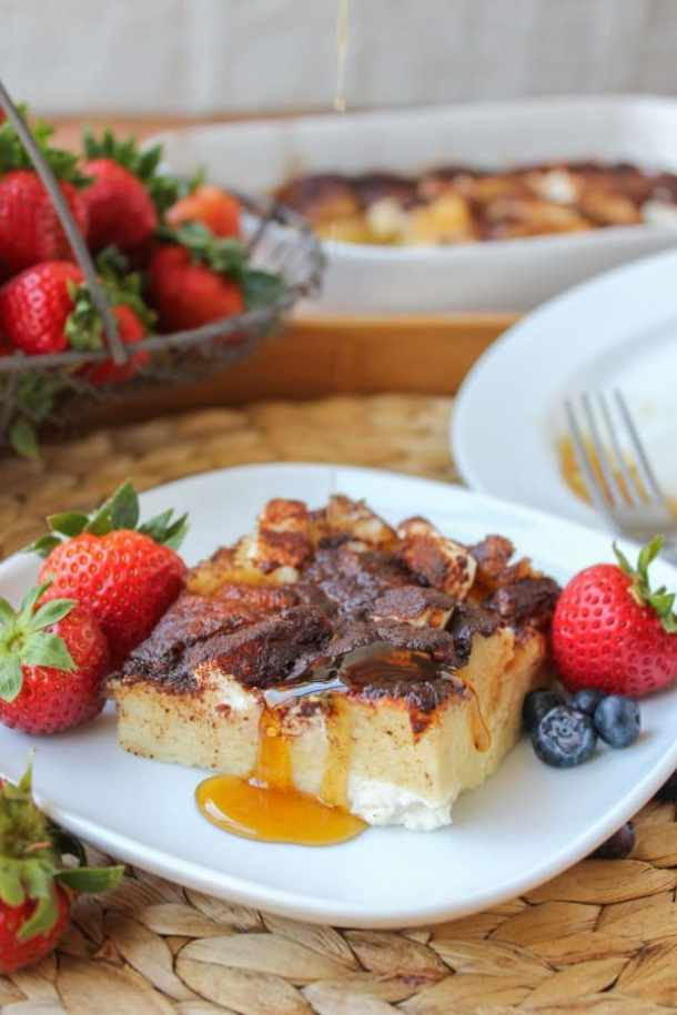 Cream Cheese French Toast Casserole--Part of The Best French Toast Recipes