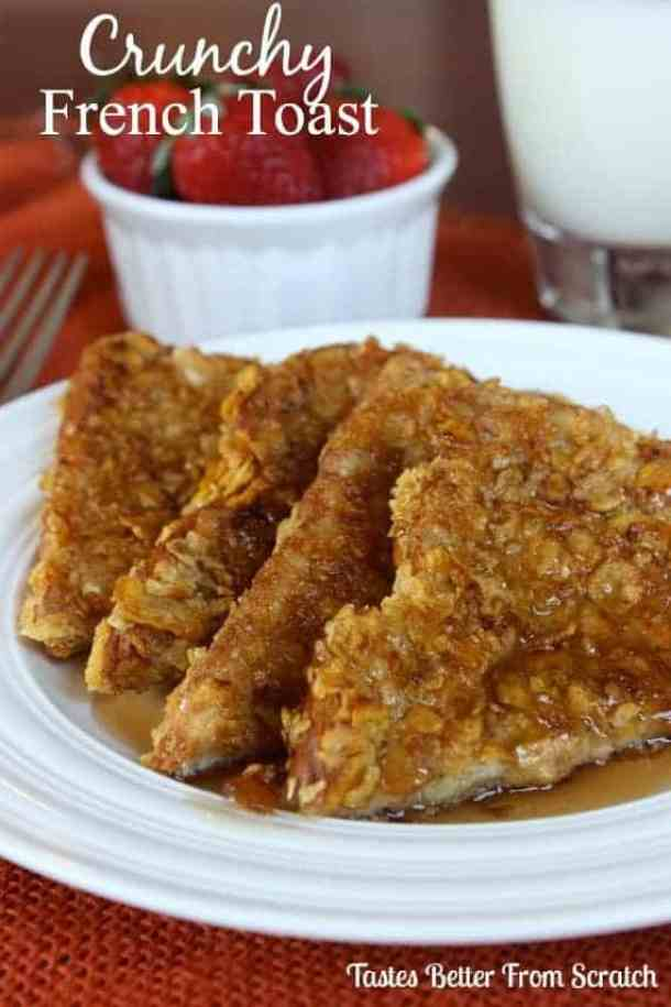 Crunchy French Toast--Part of The Best French Toast Recipes