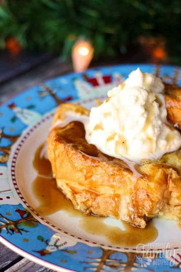 Eggnog French Toast with Gingerbread Syrup--Part of The Best French Toast Recipes