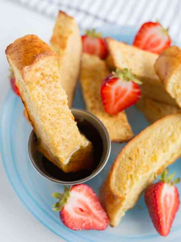 Freezable French Toast Sticks--Part of The Best French Toast Recipes