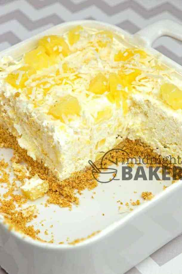 No-Bake Pineapple Cream Dessert