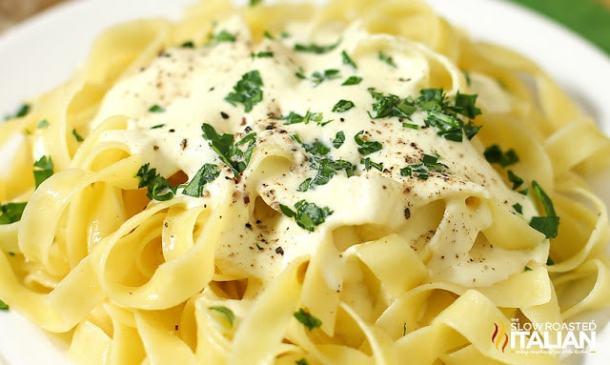 Olive Garden Copycat Alfredo Sauce Recipe