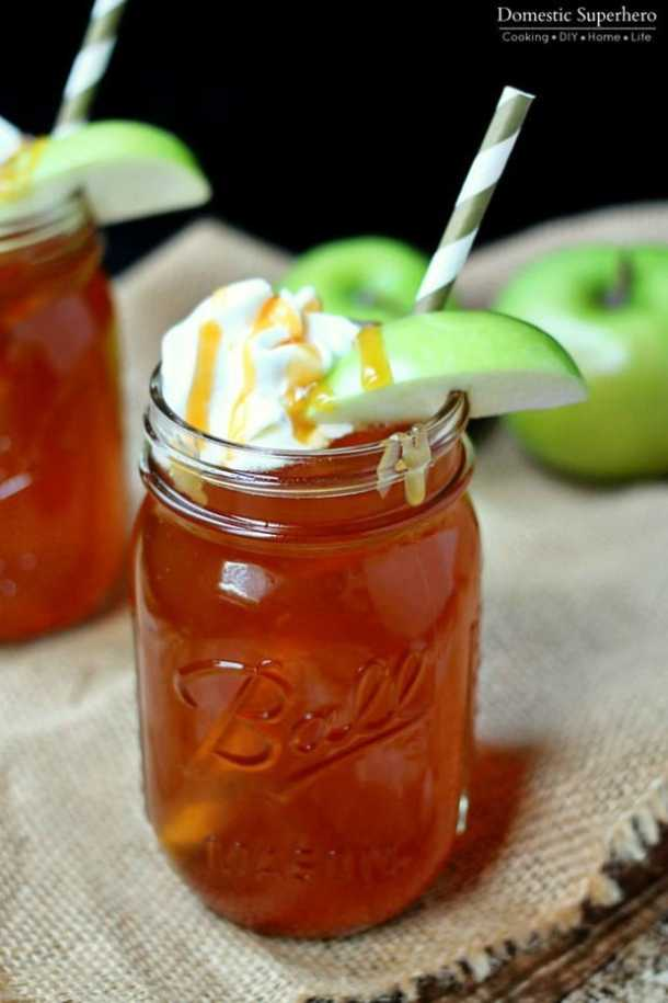 Slow Cooker Caramel Apple Cider Recipe