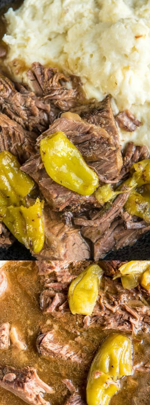 Slow Cooker Mississippi Pot Roast
