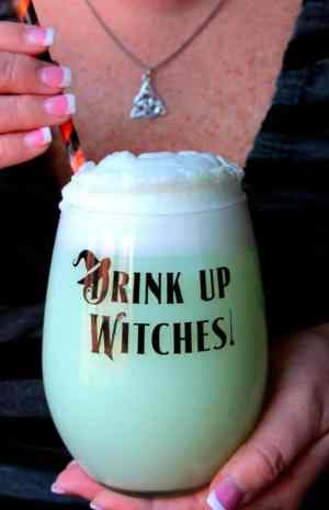 Witches Brew Lime Sherbet Punch